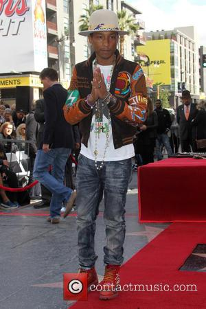 Pharrell Williams - Pharrell Williams honored with a star on the Hollywood Walk of Fame at Hollywood Walk of Fame...