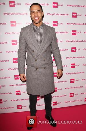Marvin Humes - Very Christmas Crib event in London - Arrivals at Batemans Row, City London. - London, United Kingdom...