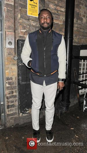 Will I Am and will.i.am - will.i.am arriving at The Arts Club in Mayfair - London, United Kingdom - Thursday...
