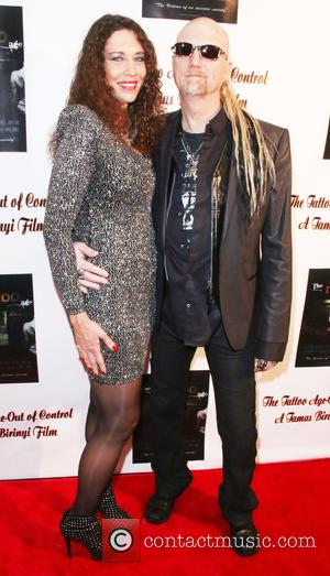 Mariette Mesey and Mike Mesey - Photo's from the release of the documentary film 'The Tattoo Age - Out of...