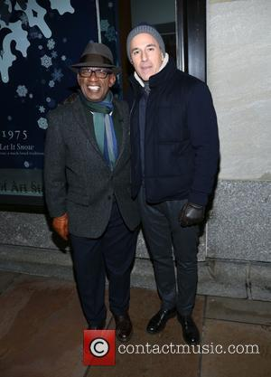Al Roker and Matt Lauer - Shots of a variety of stars and the crowd at the 82nd Annual Rockefeller...