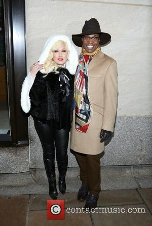 Billy Porter and Cyndi Lauper