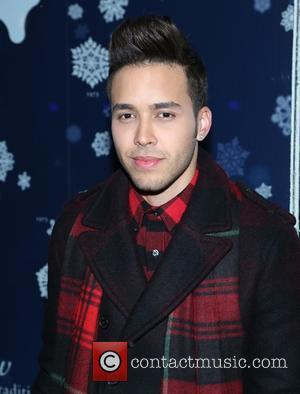 Prince Royce - Shots of a variety of stars and the crowd at the 82nd Annual Rockefeller Christmas Tree Lighting...