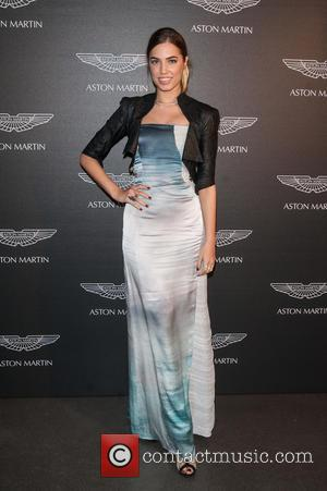 Amber Le Bon - Aston Martin: 50 Years of Bond held at the London Film Museum Covent Garden. - London,...