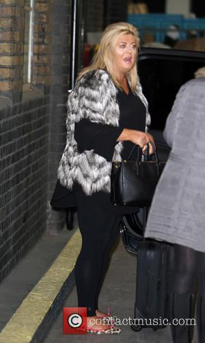Gemma Collins - Gemma Collins outside the ITV Studios - London, United Kingdom - Thursday 4th December 2014