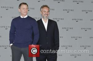 Daniel Craig and Christoph Waltz - Shots of the stars of 'Spectre' the new James Bond film as they arrived...