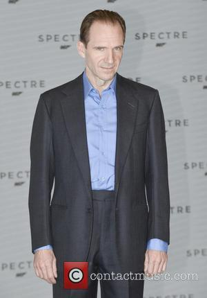 Ralph Fiennes - Shots of the stars of 'Spectre' the new James Bond film as they arrived at the films...