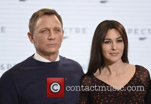 Daniel Craig and Monica Bellucci - Shots of the stars of 'Spectre' the new James Bond film as they arrived...