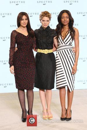 Naomie Harris, Lea Seydoux and Monica Bellucci