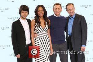 Naomie Harris, Daniel Craig, Ben Whishaw and Ralph Fiennes