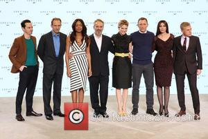 Andrew Scott, Ralph Fiennes, Naomie Harris, Sam Mendes, Daniel Craig, Lea Seydoux, Monica Bellucci and Christopher Waltz - Shots of...