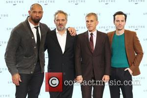 Dave Bautista, Director Sam Mendes, Christoph Waltz and Andrew Scott