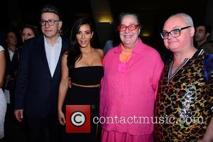 David Hershkovits, Kim Kardashian, Kim Hastreiter and Mickey Boardman
