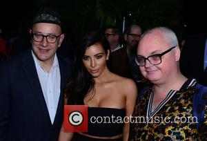 David Hershkovits, Kim Kardashian and Mickey Boardman
