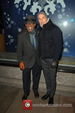 Al Roker and Matt Lauer - Shots of a variety of stars at the 82nd Annual Rockefeller Christmas Tree Lighting...