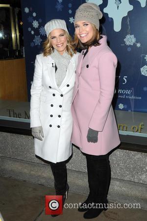 Natalie Morales and Savannah Guthrie