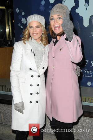 Natalie Morales and Savannah Guthrie - Shots of a variety of stars at the 82nd Annual Rockefeller Christmas Tree Lighting...
