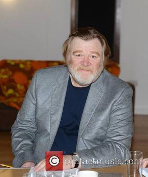 Brendan Gleeson - Actor family Brian Gleeson, Brendan Gleeson, and Domhnall Gleeson rehearsal for the stage play 'The Walworth Farce'...