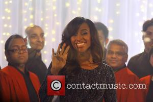 Alexandra Burke - Alexandra Burke performs live in front of Christmas shoppers during a week long Sky Arts festive event...