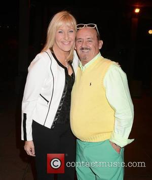 Brendan O'Carroll and Jenny O'Carroll - Guests arrive at RTÉ for 'The Late Late Show' - Dublin, Ireland - Friday...