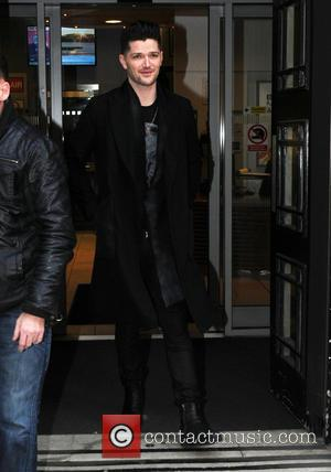 Danny O'Donoghue - The Script seen leaving Radio Two Studios in London - London, United Kingdom - Friday 5th December...