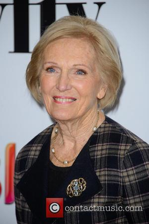 Mary Berry - Photographs of a variety of stars as they arrived at the Women in Film and Television Awards...