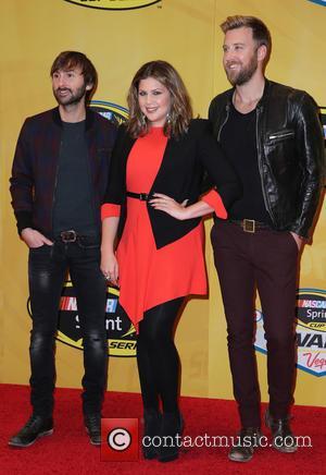 Lady Antebellum - 2014 NASCAR Sprint Cup Series Awards at Wynn Las Vegas - Arrivals at Wynn Las Vegas -...