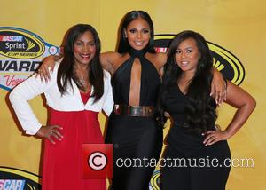 Tina Douglas, Ashanti and Shia Douglas - 2014 NASCAR Sprint Cup Series Awards at Wynn Las Vegas - Arrivals at...
