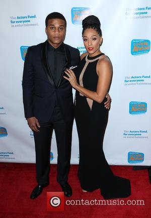 Cory Hardrict and Tia Mowry - The Actors Fund 2014 The Looking Ahead Awards at Taglyan Cultural Complex - Hollywood,...