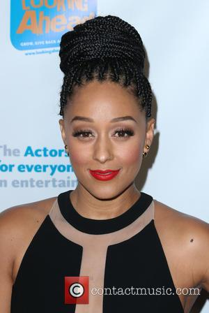 Tia Mowry - The Actors Fund 2014 The Looking Ahead Awards at Taglyan Cultural Complex - Hollywood, California, United States...