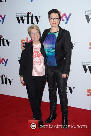 Sandi Toksvig and Sue Perkins
