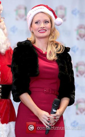 Holly Madison - Holly Madison hosts the 2014 Las Vegas Great Santa Run at Las Vegas Fremont Street Experience -...