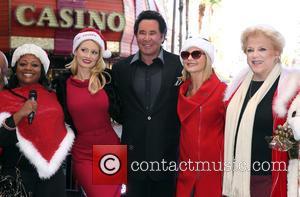 Holly Madison, Wayne Newton, Olivia Newton John and Mayor Carolyn Goodman