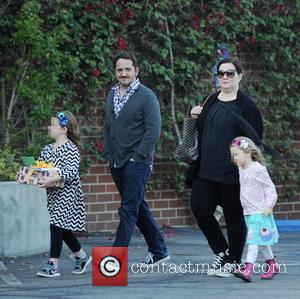 Melissa McCarthy, Ben Falcone, Vivian Falcone and Georgette Falcone - Melissa McCarthy and husband Ben Falcone take their daughters Vivian...