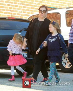 Melissa McCarthy, Vivian Falcone and Georgette Falcone - Melissa McCarthy and husband Ben Falcone take their daughters Vivian and Georgette...