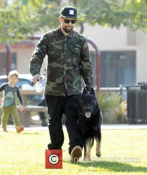 Joel Madden - Nicole Richie and Joel Madden take their children Harlow and Sparrow to a park in Pasadena, California....