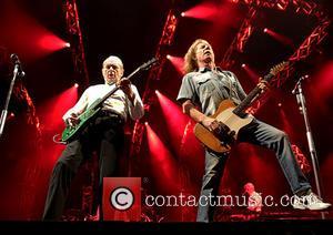Status Quo, Francis Rossi and Rick Parfitt - Status Quo perform live at Liverpool Echo Arena at Liverpool Echo Arena...