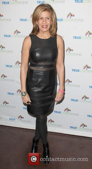 Hoda Kotb - 4th Annual Cyndi Lauper & Friends: Home for the Holidays benefit concert - Arrivals - New York,...