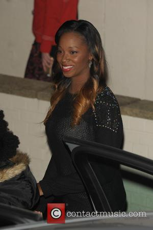 Jamelia - Departures from the 'X Factor' studios after the live show at x factor - London, United Kingdom -...