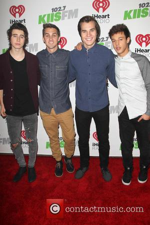 Dallas, Nash Grier, Cody Johns and Marcus Johns