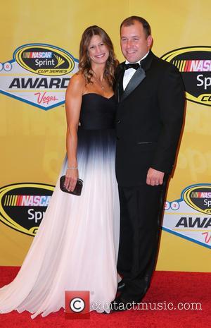 Ryan Newman and Krissie Newman - 2014 NASCAR Sprint Cup Series Awards Arrivals at Wynn Las Vegas at Wynn Las...