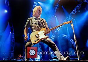 Rick Parfitt , Status Quo - Status Quo perform live at Liverpool Echo Arena at Liverpool Echo Arena - Liverpool,...