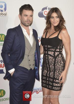 Dave Berry and Lisa Snowdon - Capital FM's Jingle Bell Ball 2014 at The O2 - Arrivals - London, United...