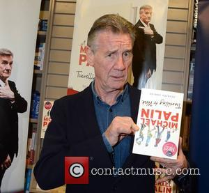 Michael Palin - Michael Palin signs copies of his new book 'Travelling to Work' at Dubray Books - Dublin, Ireland...