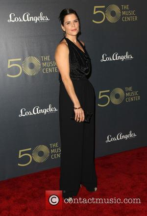 Neve Campbell - The Music Center's 50th Anniversary Spectacular - Arrivals at The Dorothy Chandler Pavilion at the Music Center...