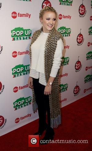 Emily Osment - Photographs of the annual ABC family's 25 Days of Christmas Winter Wonderland which was held at the...
