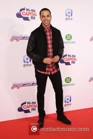 Marvin Humes - Capital FM's Jingle Bell Ball 2014 at The O2 - Day 2 - Arrivals at The O2...