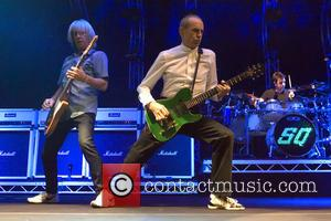 Francis Rossi and Rick Parfitt - Status Quo perform live in concert at the SSE Hydro at SSE Hydro -...