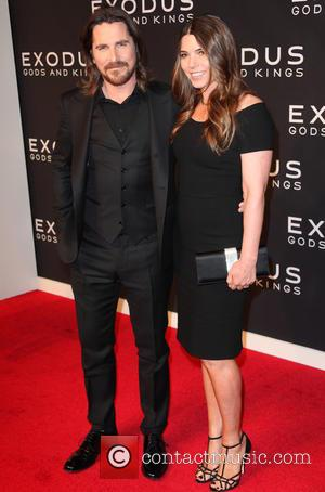 Christian Bale and Sibi Blazic - Photographs of a variety of stars as they arrived at the New York Premiere...