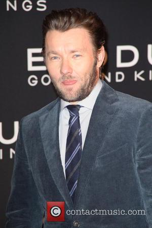 Joel Edgerton - Photographs of a variety of stars as they arrived at the New York Premiere of 'Exodus: Gods...